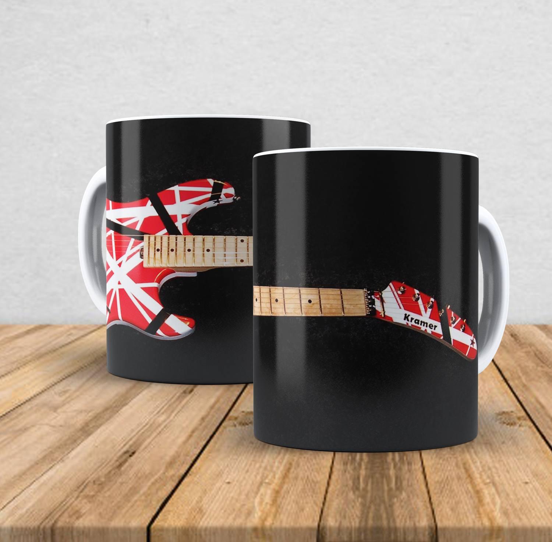Caneca de porcelana Van Halen - 350ml