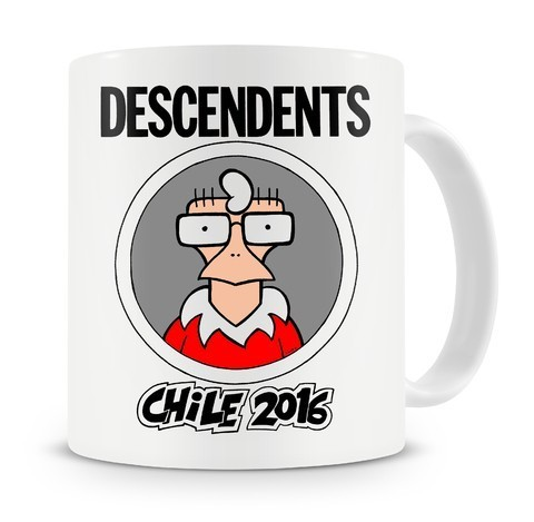 Caneca Descendents - Chile 2016