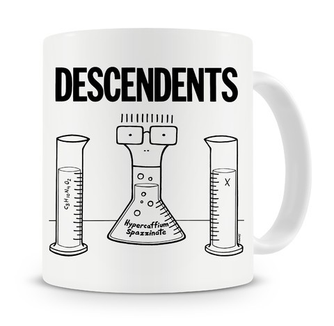 Caneca Descendents - Hypercaffium Spazzinate