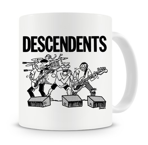 Caneca Descendents - Live Cartoon