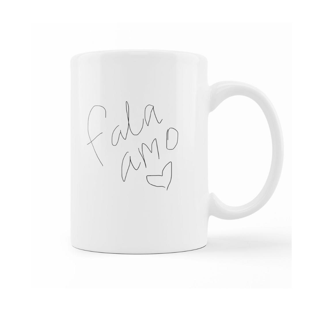 Caneca Fala Amo Bring Me The Horizon [BMTH] - My Mug Collection