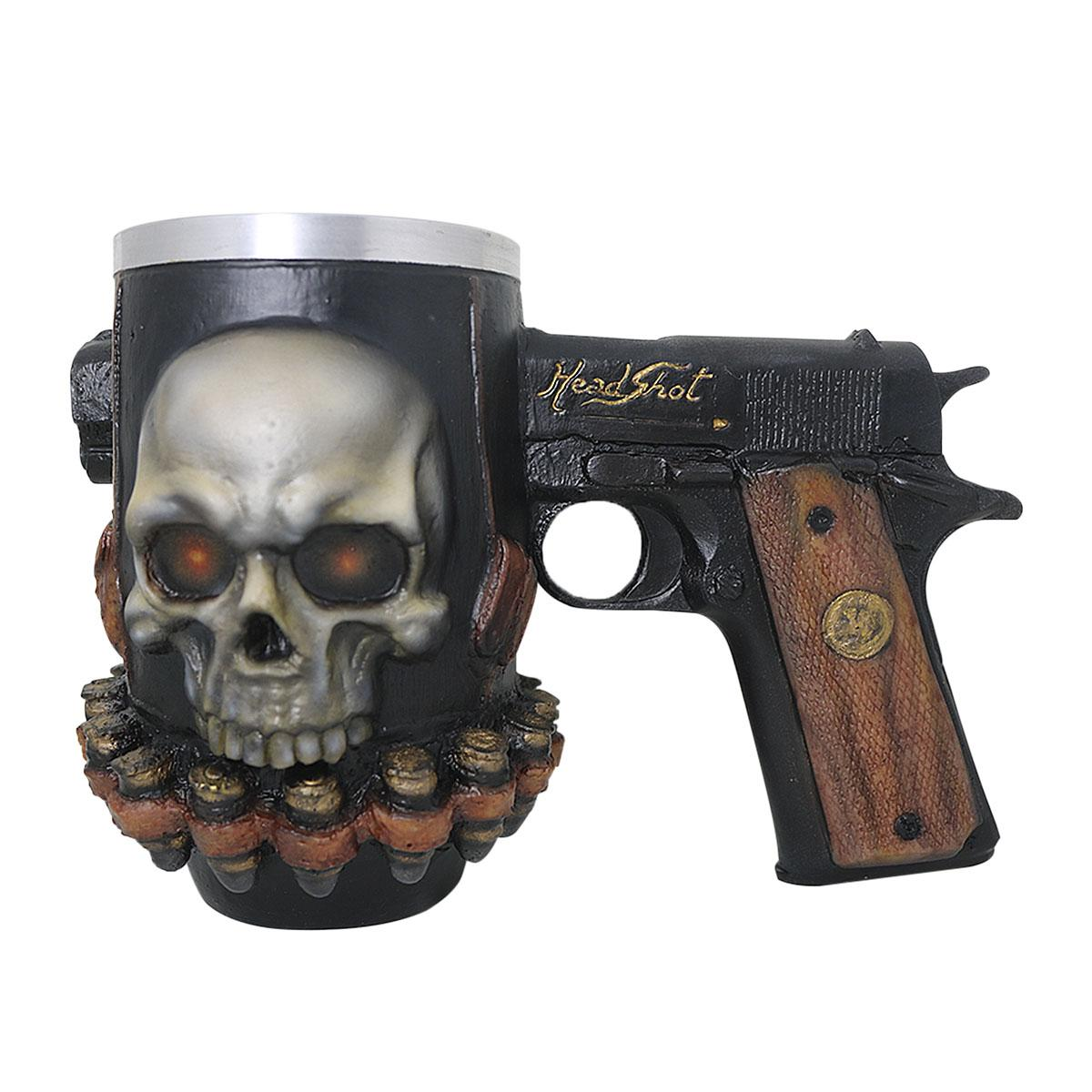 Caneca Headshot Realista  490ml