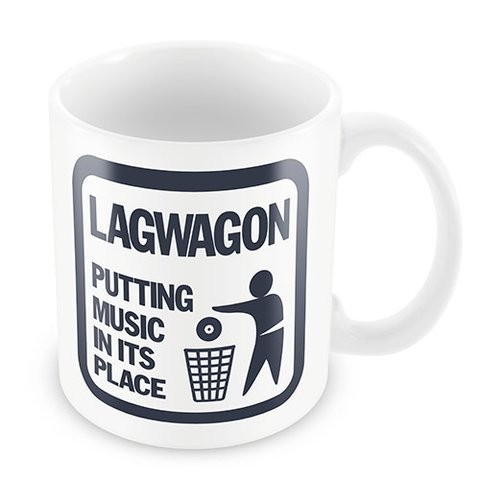 Caneca Lagwagon - Putting Music In Its Place