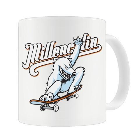 Caneca Millencolin - Skate Bear