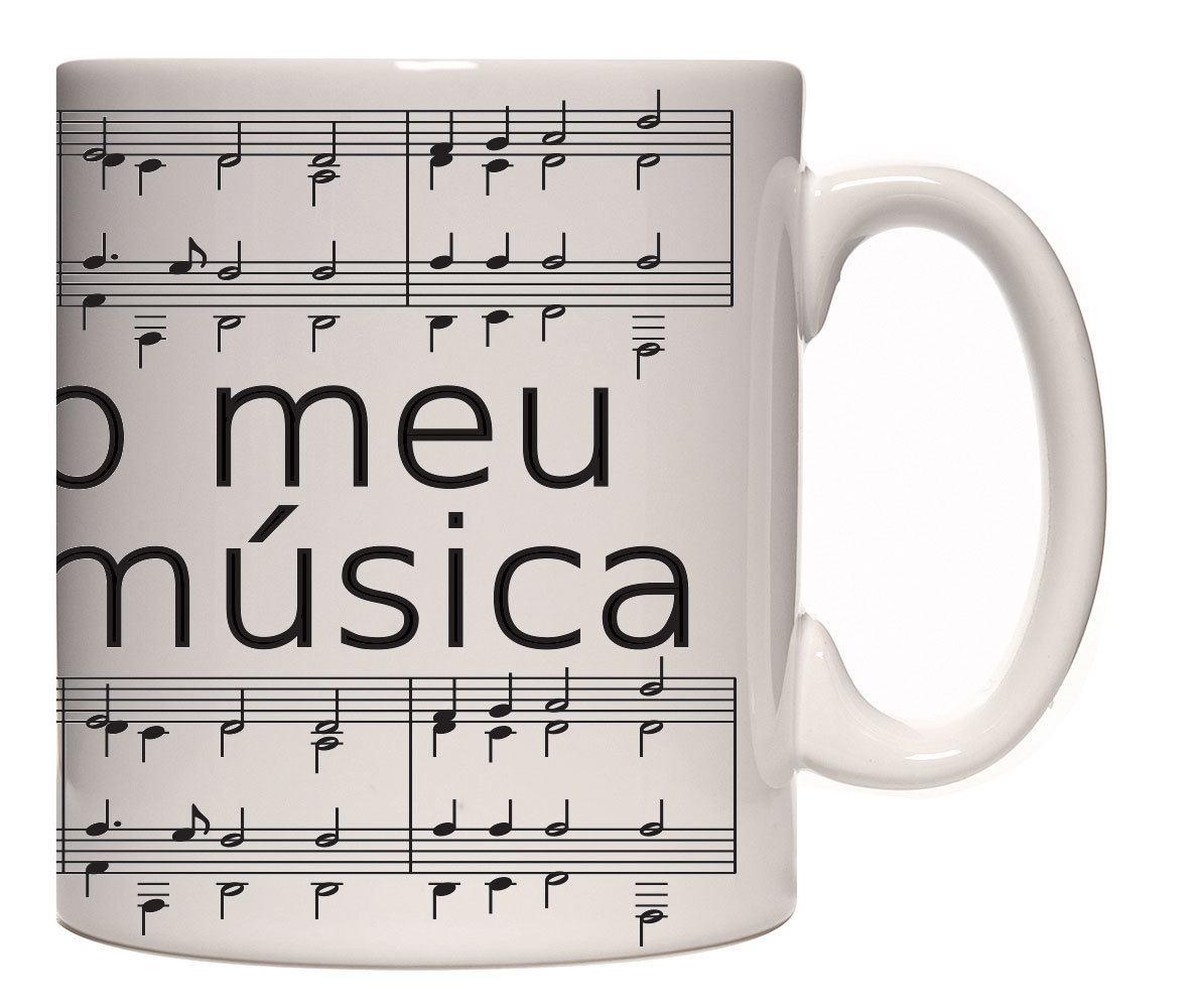 Caneca porcelana Sucesso Música
