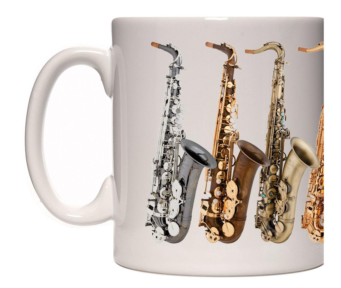 Caneca Saxofone