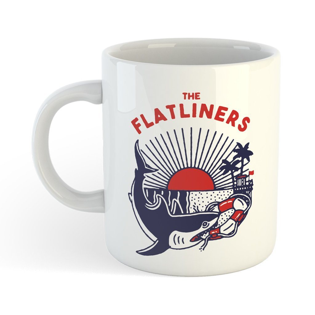 Caneca The Flatliners - Shark Attack