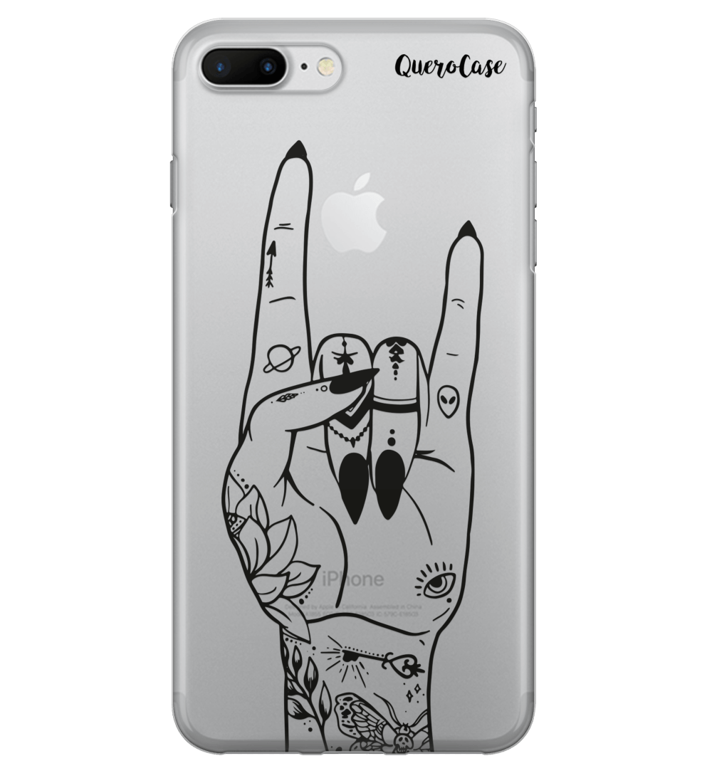 Capa de Celular Rock Hand