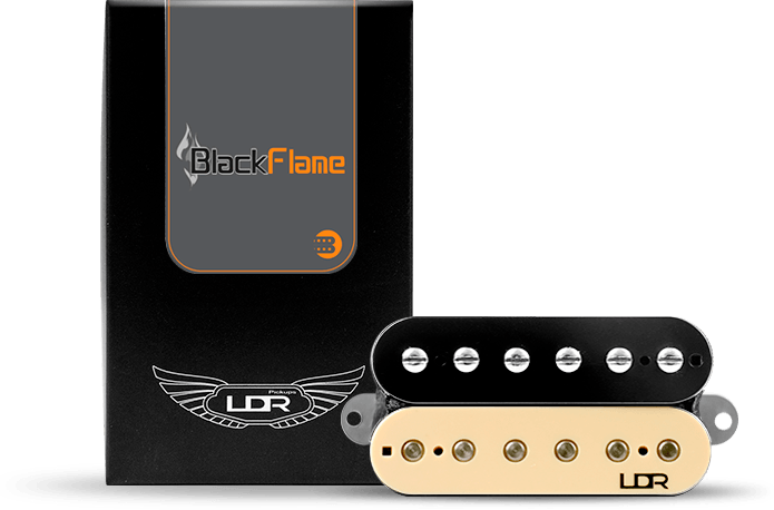 Captador Humbucker  LDR Black Flame