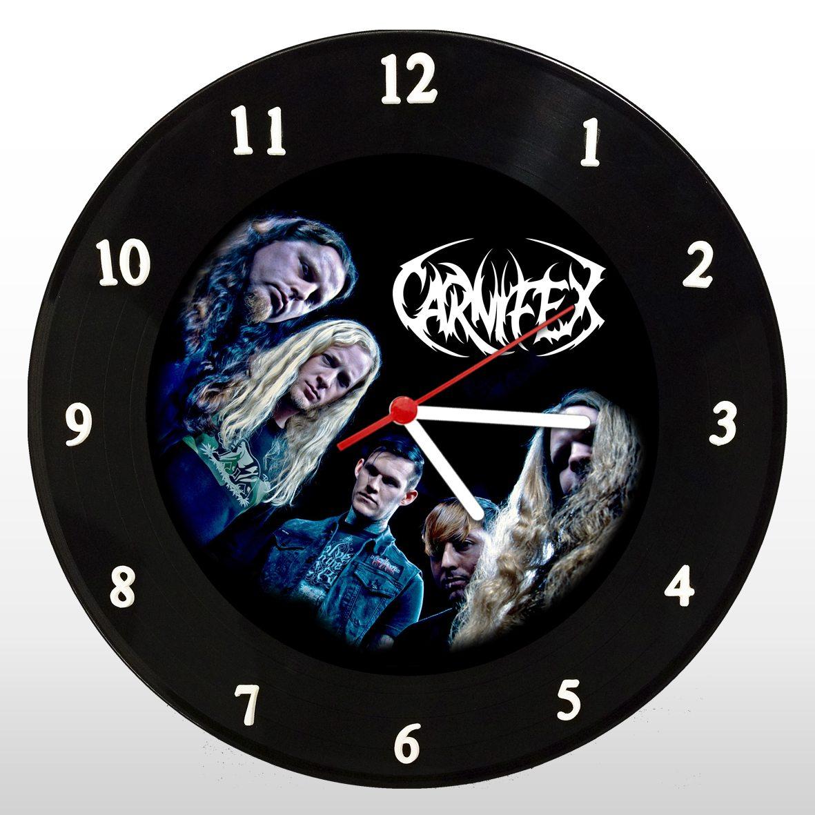 Carnifex - Relógio de Parede em Disco de Vinil - Mr. Rock