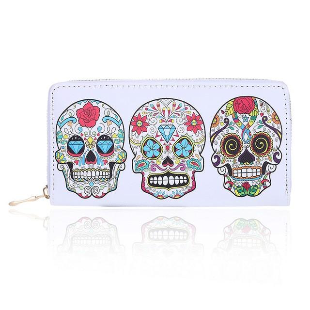 Carteira Skull Mexicana – SkullAchando