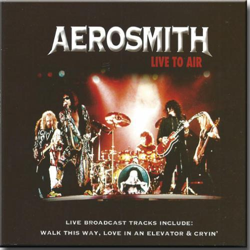 Cd Aerosmith - Live to Air