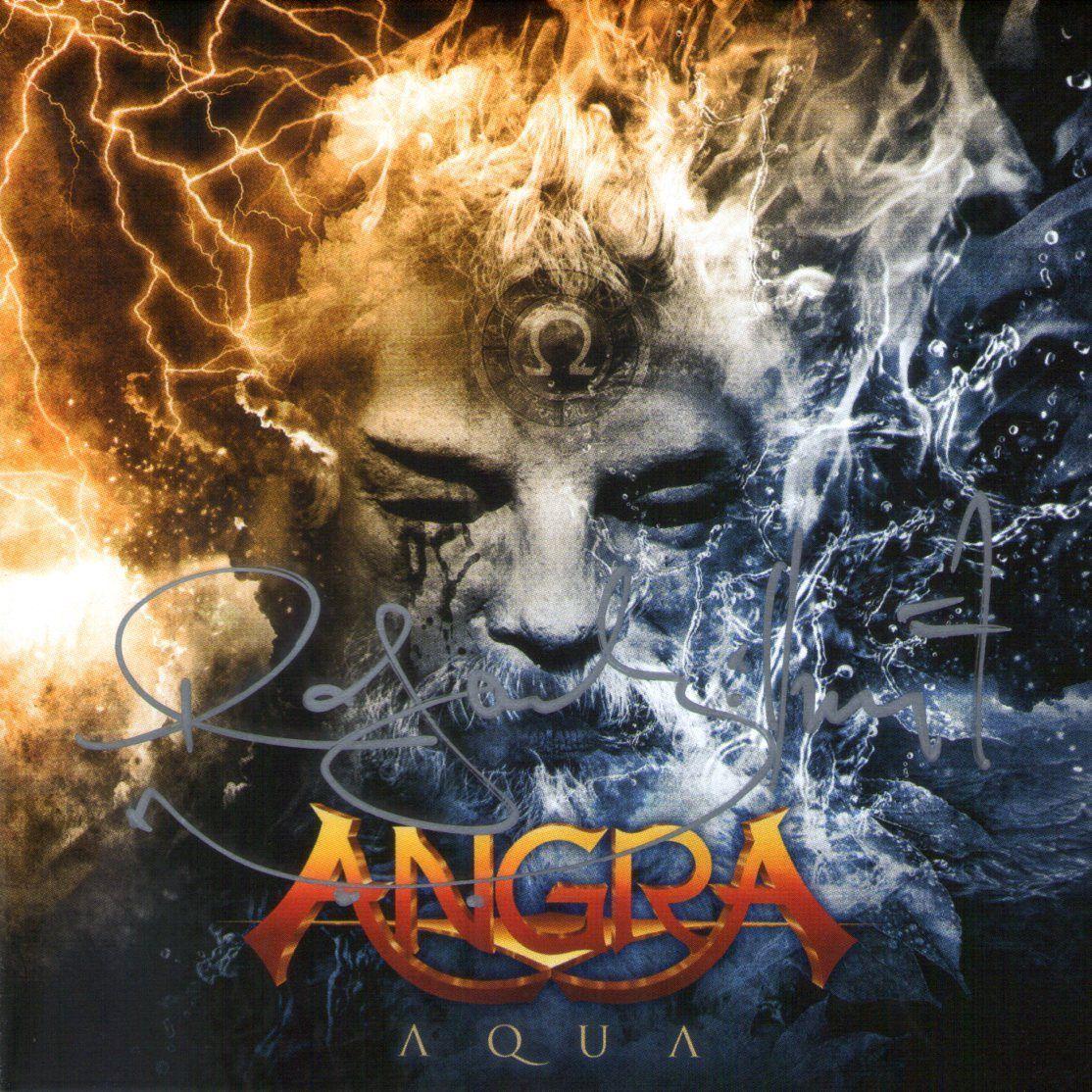 CD – Angra – Aqua – Autografado