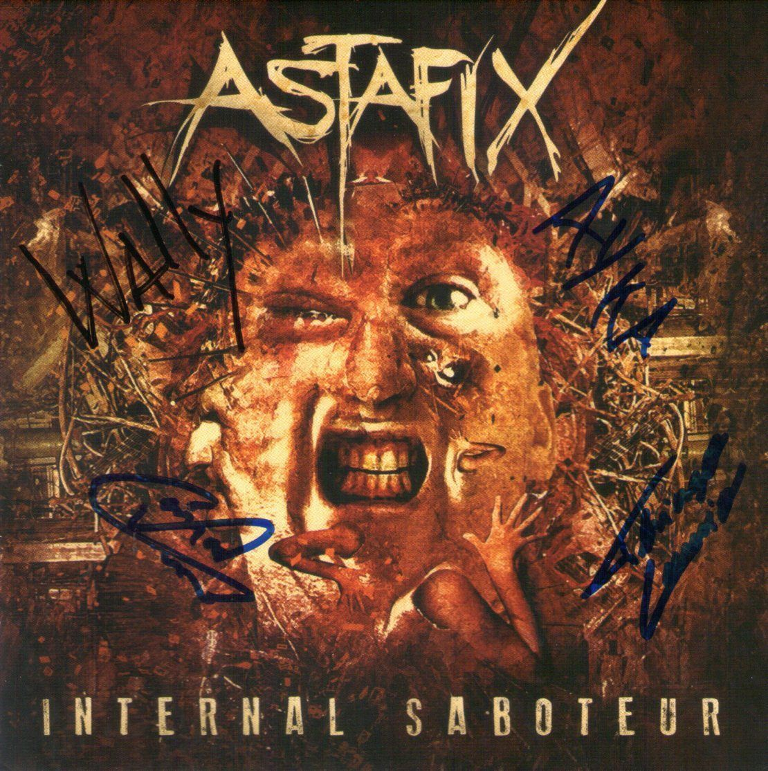 CD – Astafix – Internal Saboteur – Autografado