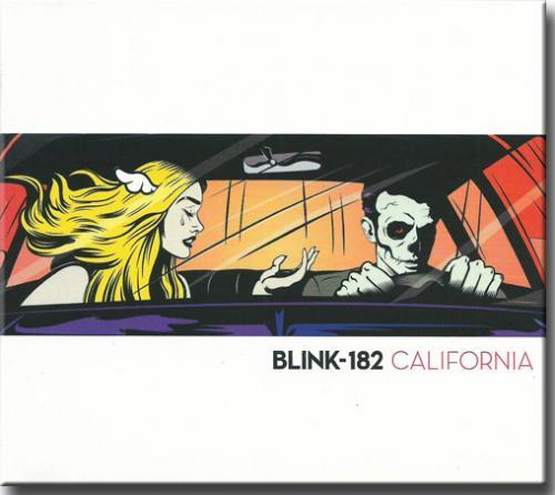 Cd Blink 182 - California
