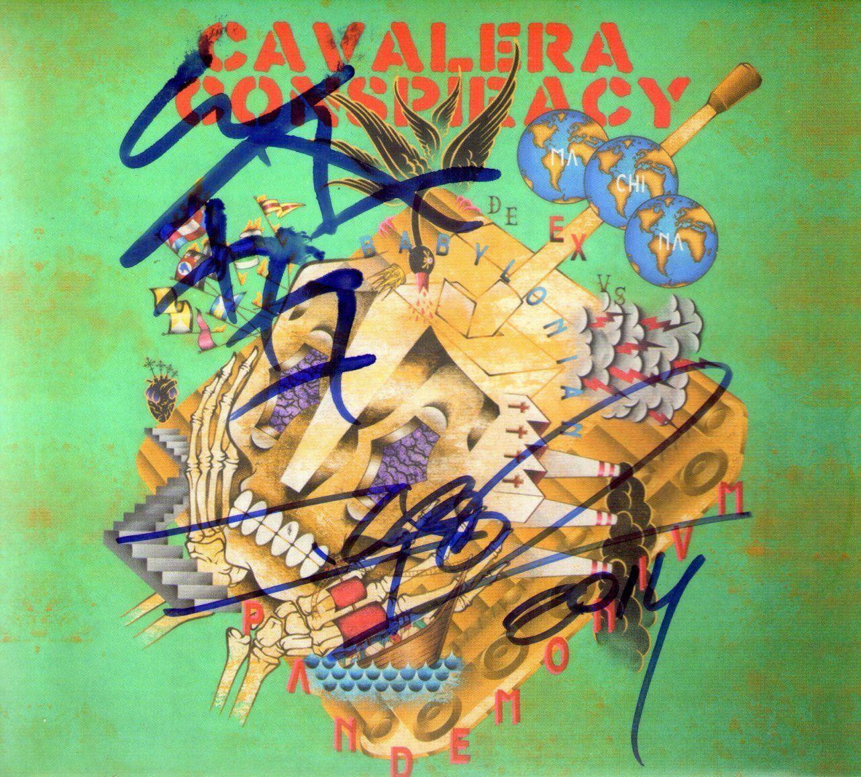CD – Cavalera Conspiracy – Pandemonium – Autografado
