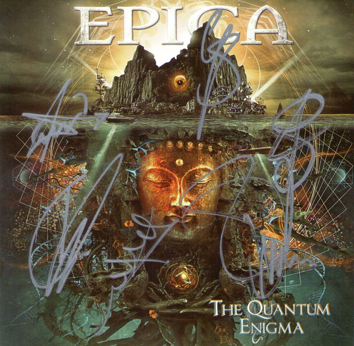 CD – Epica – The Quantum Enigma – Autografado