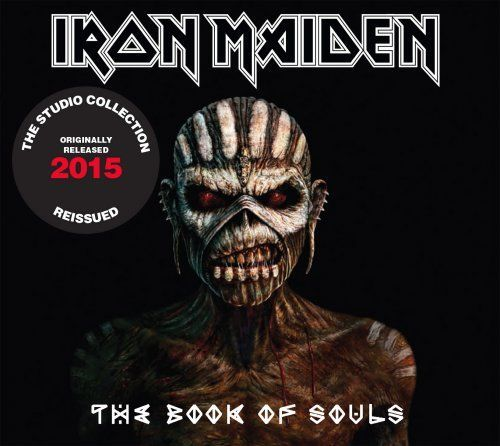 CD Iron Maiden - The Book Of Souls (Digipack Duplo)