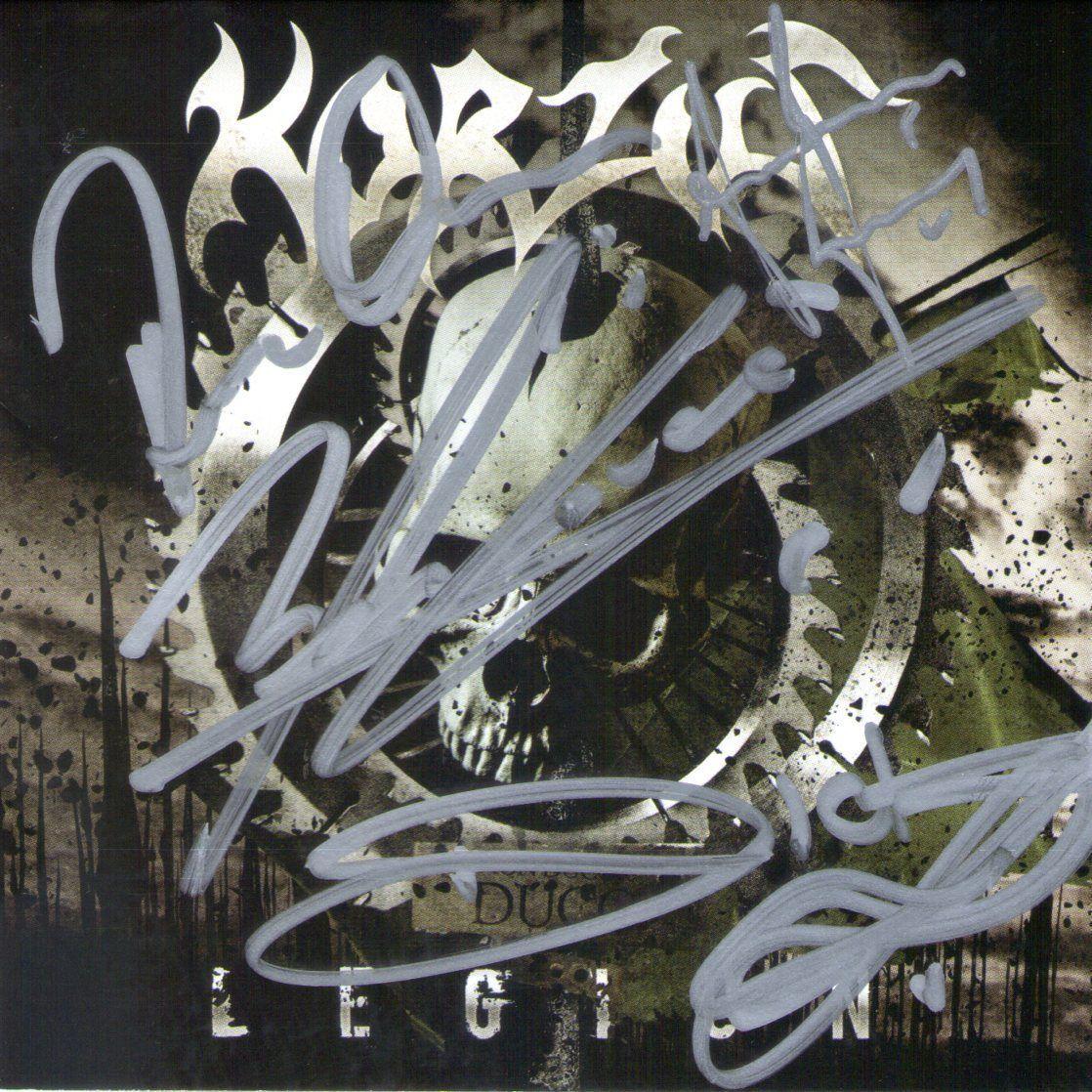 CD – Korzus – Legion – Autografado