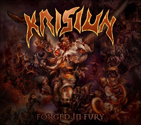 CD Krisiun - Forged In Fury + Slipcase (Luva) + Pôster + Porta Copos