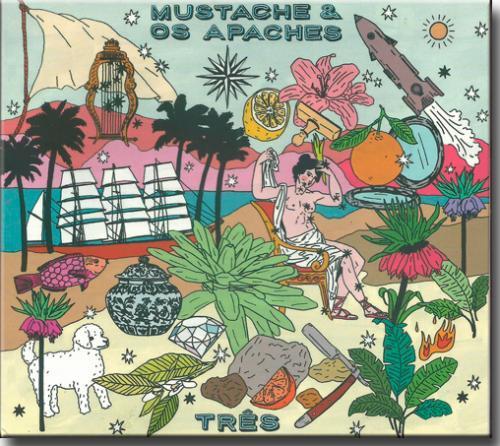 Cd Mustache & os Apaches - Três