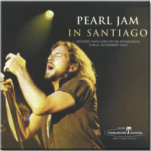 Cd Pearl Jam - in Santiago