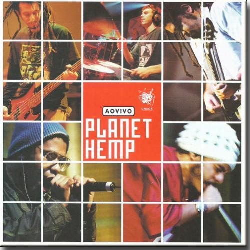 Cd Planet Hemp - ao Vivo