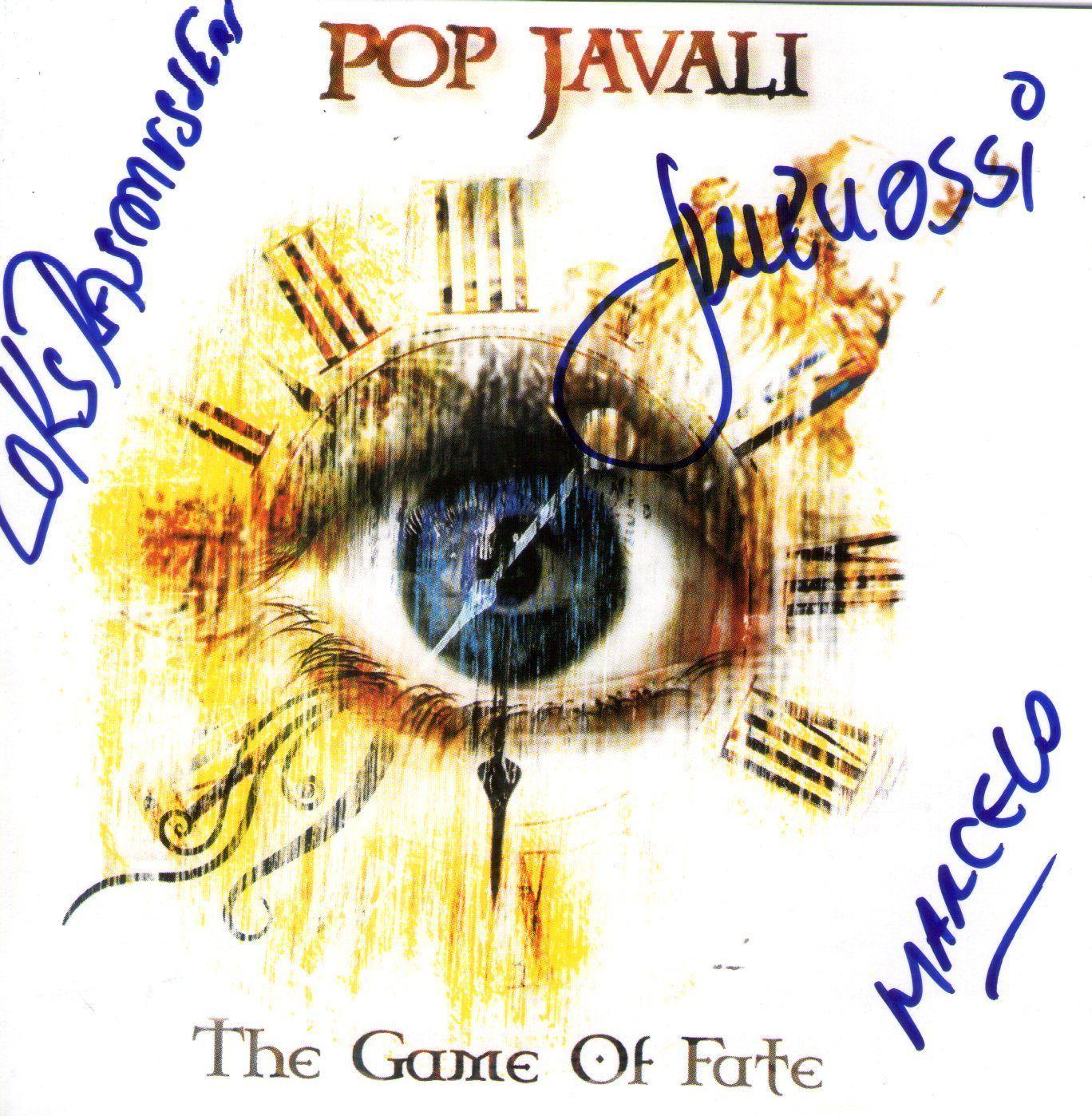 CD – Pop Javali – The Game Of Fate – Autografado