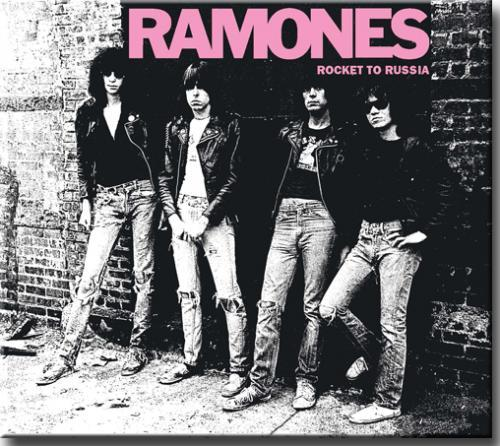 Cd Ramones - Rocket to Russia (digipack)