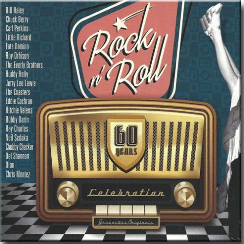 Cd Rock'n'roll 60 Years Celebration - Diversos Internacio (box 3cds)
