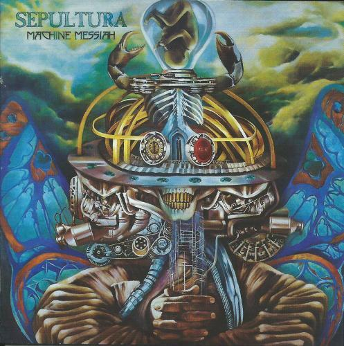 Cd Sepultura - Machine Messiah