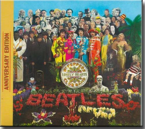 Cd The Beatles-anniversary Edition - Sgt.peppers Lonely Hearts-delu