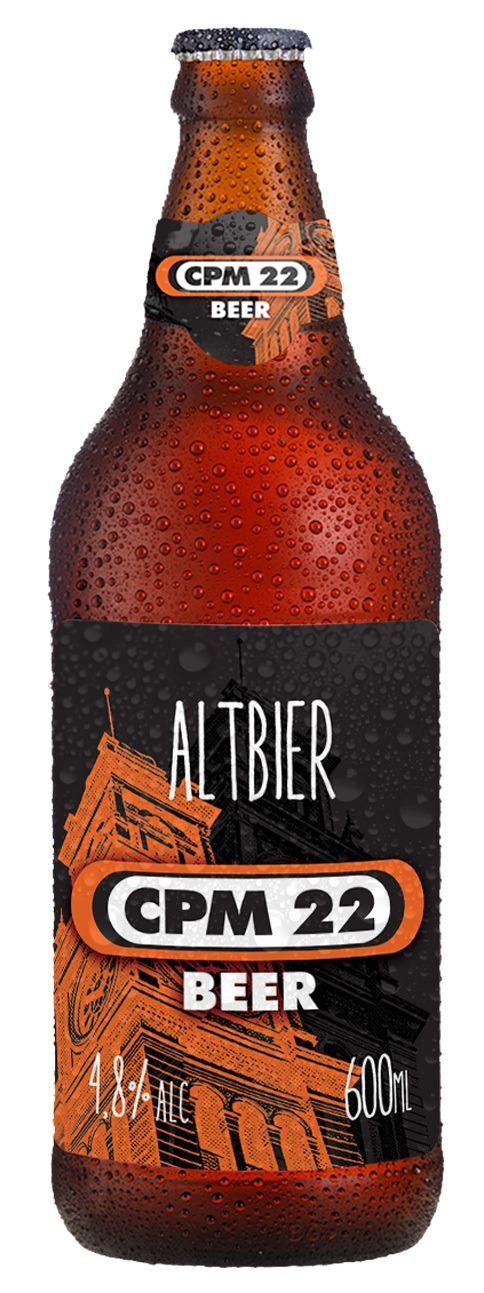 Cerveja Bamberg CPM22 Altbier 600 ml