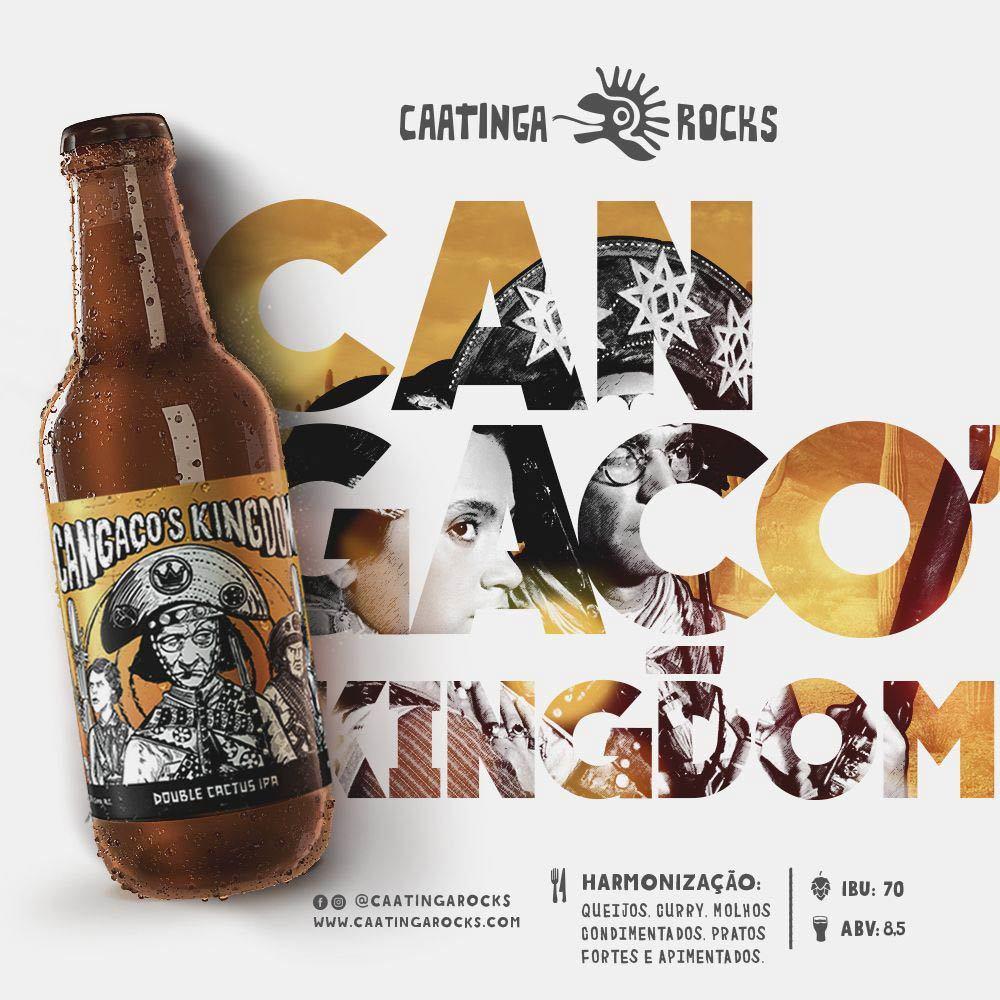 Cerveja Caatinga Rocks Cangaço's Kingdom 500ml