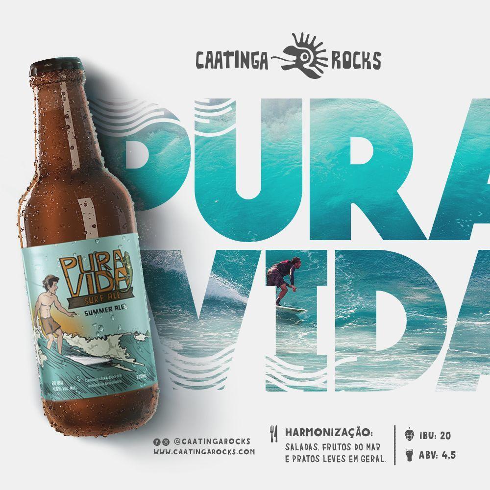 Cerveja Caatinga Rocks Pura Vida 500ml