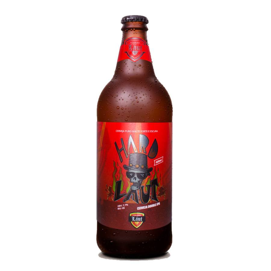 Cerveja Läut Hard Double IPA 600ml