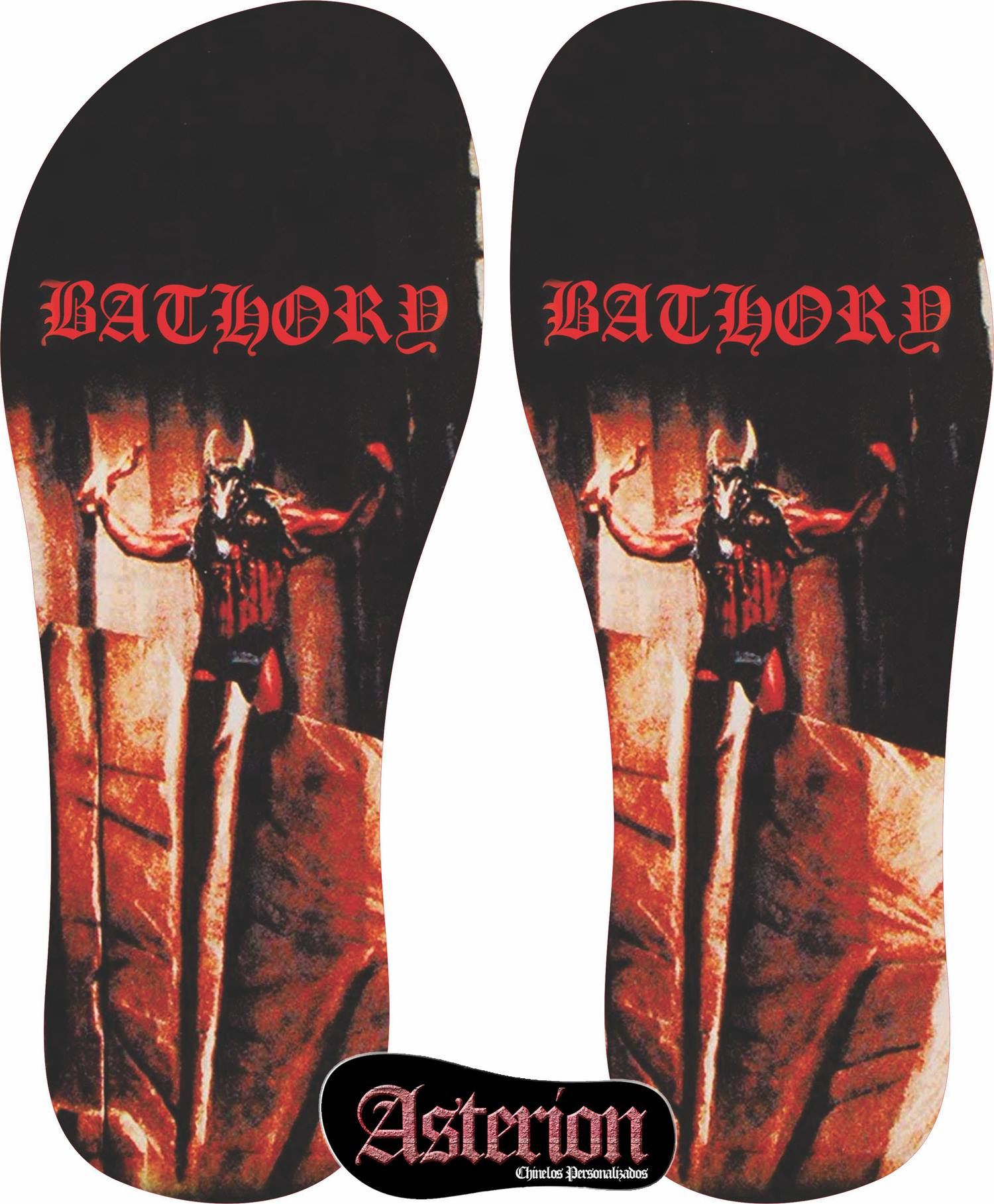 Chinelo Bathory  – Asterion Chinelos Personalizados