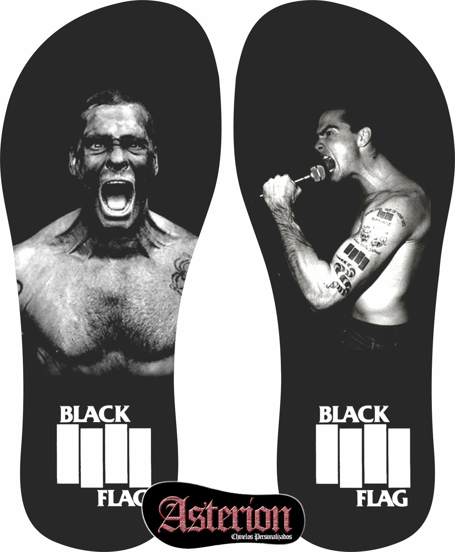 Chinelo Black Flag  – Asterion Chinelos Personalizados