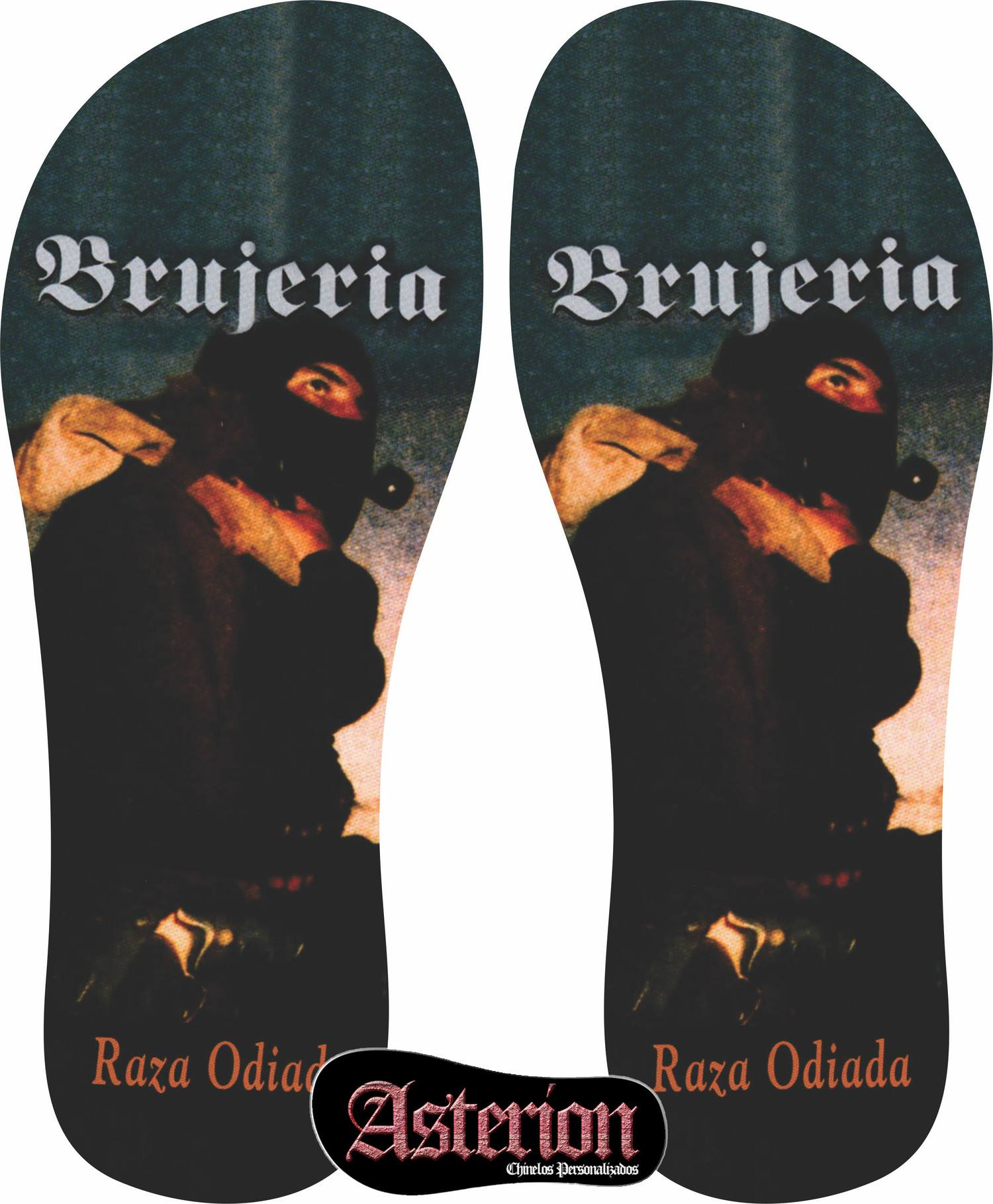 Chinelo Brujeria  – Asterion Chinelos Personalizados