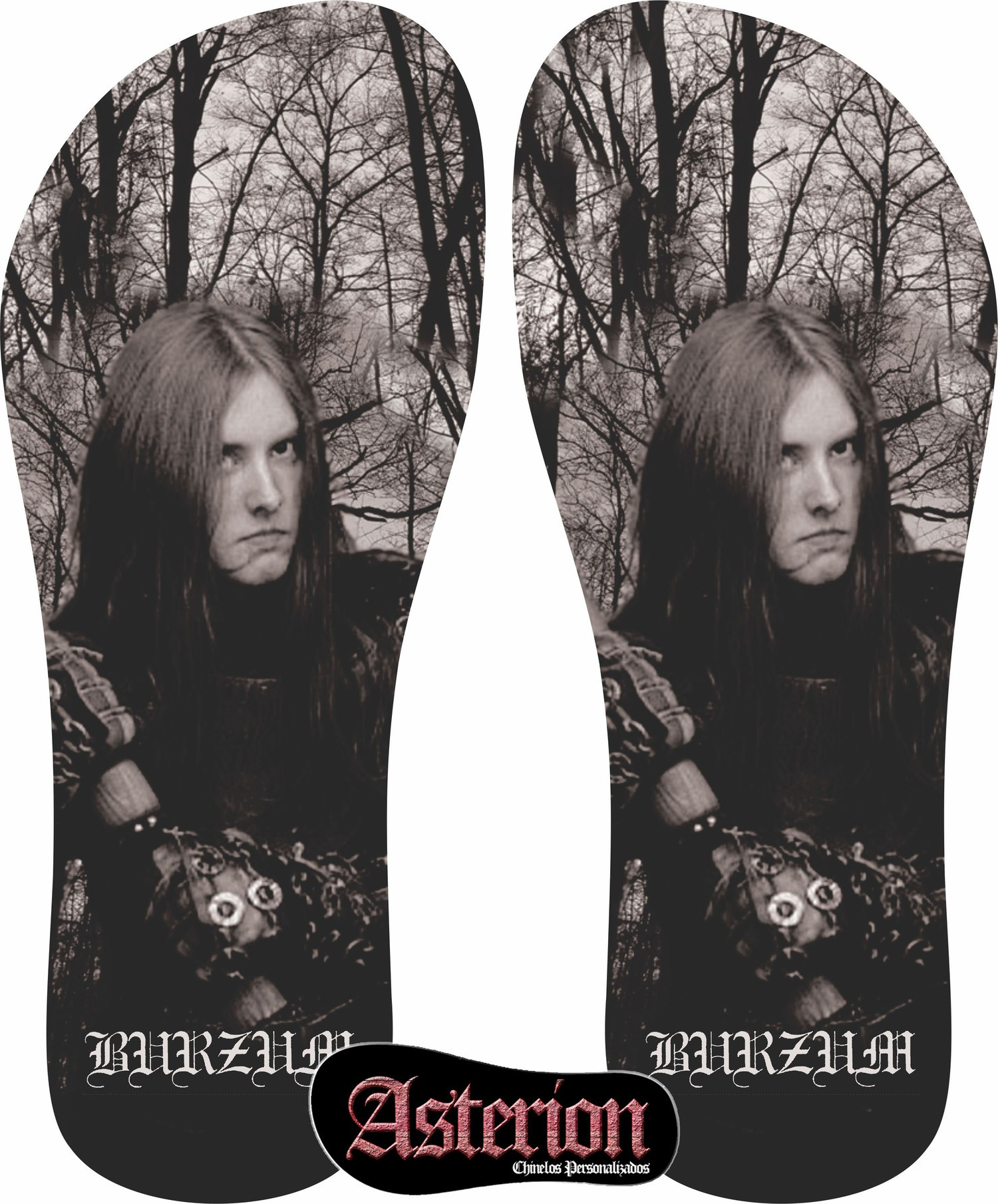 Chinelo Burzum  – Asterion Chinelos Personalizados