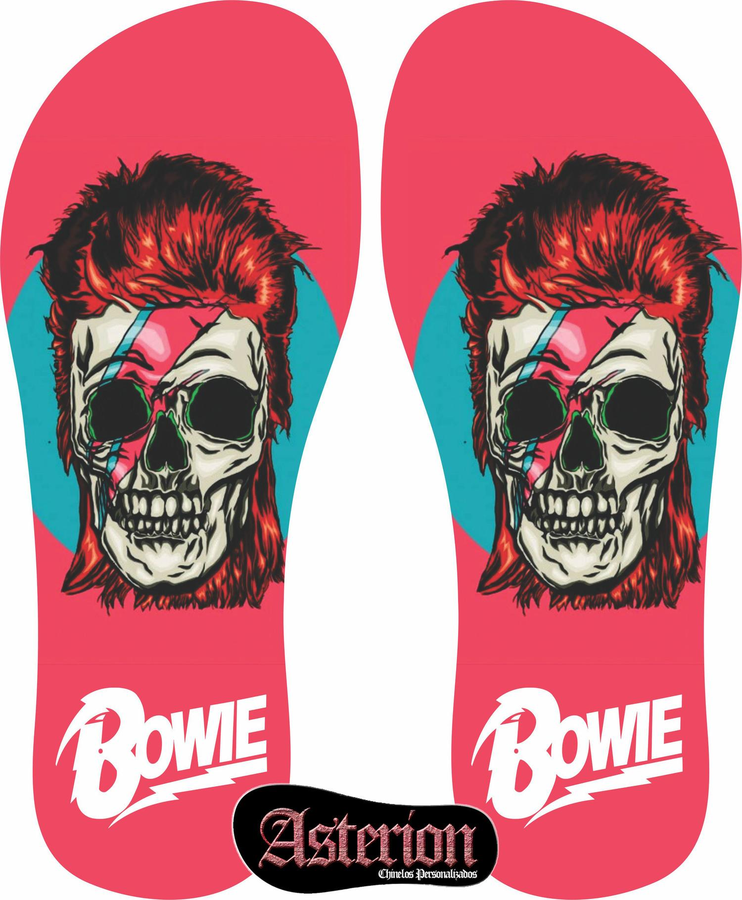 Chinelo David Bowie – Asterion Chinelos Personalizados