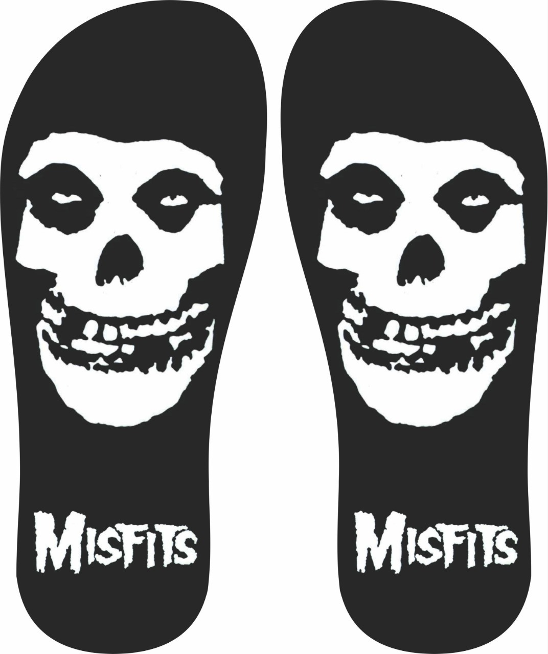 Chinelo Misfits - Asterion Chinelos Personalizados