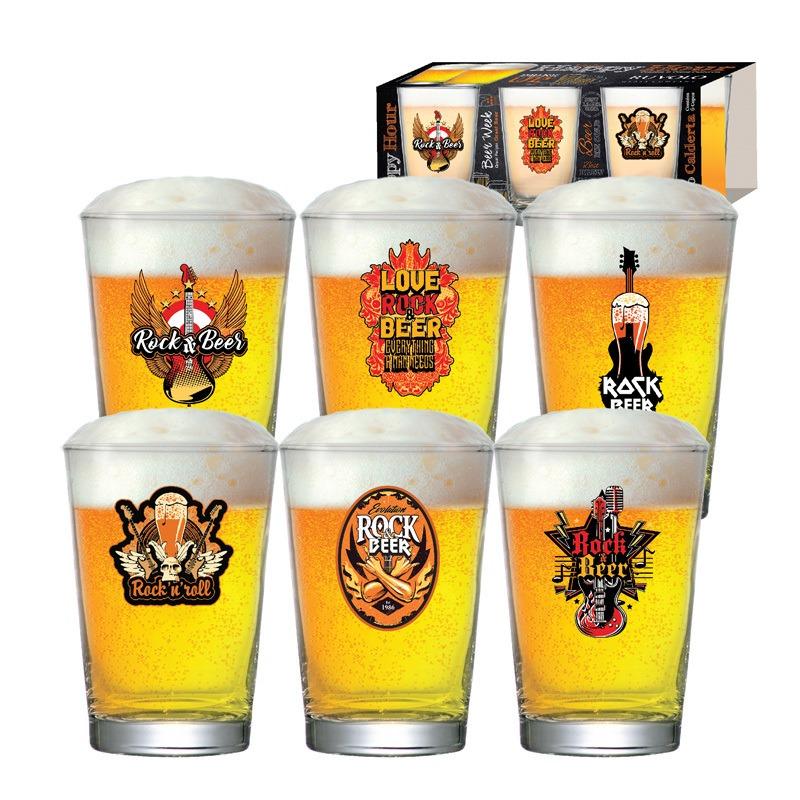 Copo de cerveja Mexican Style Caldereta  - 06 peças