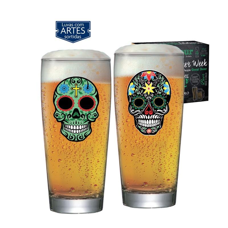 Copo de cerveja  Prime  Mexican Style - 02 peças