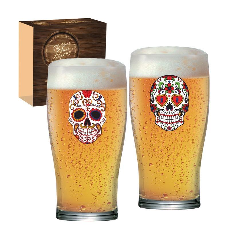 Copo de cerveja  Pint Mexican Style - 02 peças