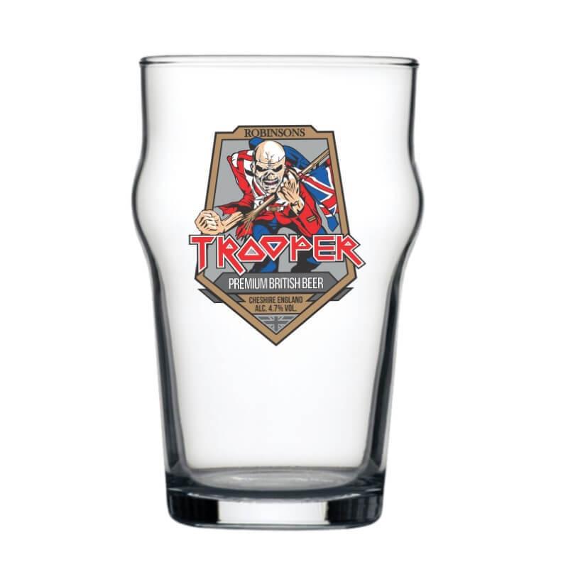 Copo Stout Iron Maiden Cerveja Beer Pint Rock 473ml