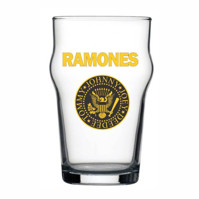 Copo Stout Ramones Cerveja Beer Pint Rock 473ml
