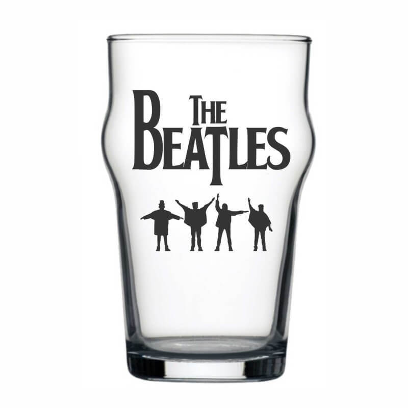 Copo Stout The Beatles Cerveja Beer Pint Rock 473ml
