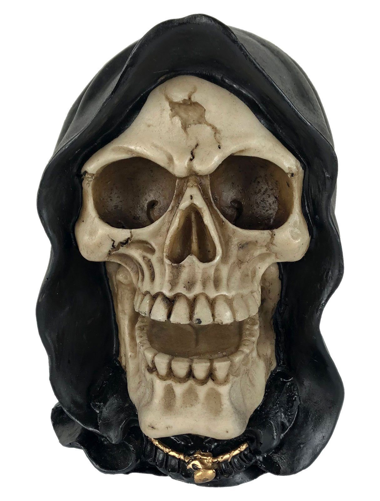 Crânio Caveira Skull Morte Death Decorativo Resina