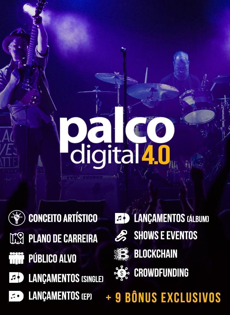 Curso Palco Digital: 10 módulos + 9 bônus